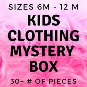 30+ piece mystery children's box  6- 12